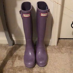 Lilac Hunter Rain Boots